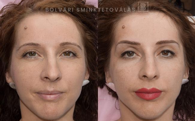 Bolvári sminktetoválás teljes arc 02